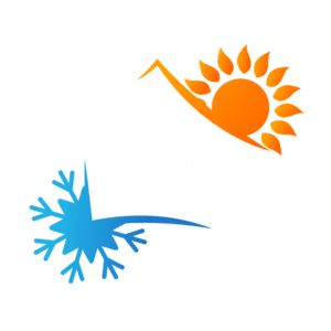 MPM Air and Heat Logo White Letters